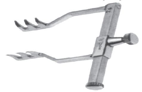 Goldstein Lachrymal Sac Retractor WSC-137