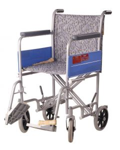 Vissco Invalid Institutional Wheel Chair 200 Mm 4 Wheels 948/A