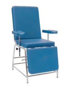 Inmoclinc Blood extractions armchair (chromed steel structure) - 21180