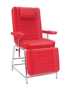 Inmoclinc Blood extractions armchair (chromed steel structure) - 21182