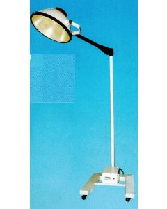 "Tanvi Shadowless Lamp Padestal Model 18"" Single Dome Halogen METALUX MOBILE 3000"