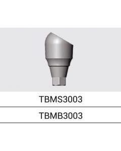 Bio3 MULTI-UNIT TITANIUM BASIS 30deg - Standard Platform (TBMS3003)