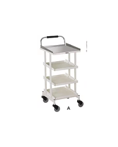Imedfurns Drug Trolley Four Trays IMED 5904