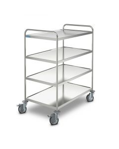 Hupfer Medical GP Trolley (MSW 8x5/4)