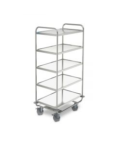 Hupfer Heavy-Duty Serving Trolley (SSW 8x5/5)