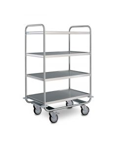Hupfer Heavy-Duty Medical GP Trolley (MSSW 10x6/4)