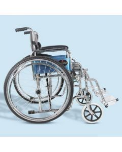 Mediva Wheelchair with Collapsible Armrest (Non ISI) - MHL 1005