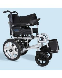 Mediva Power Wheel Chair (Blue) - MHL 1007