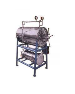 Vigyan Autoclave Horizontal (Cylindrical) - VE-107 (50 Ltr)