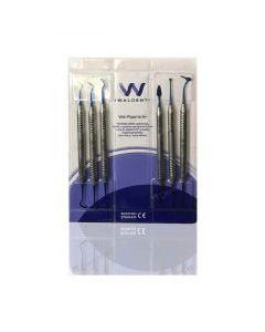 Waldent Plasma+ Composite Instrument Kit of 6