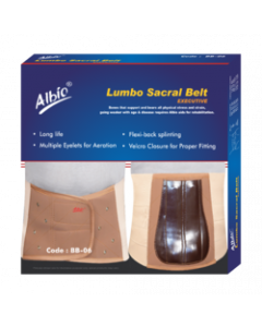 Albio Orthopedic Lumbo Sacral Belt Back Support - Executive (Ex. Large)