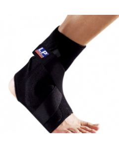 LP Ankle Support With Plastic Strap Medium 528