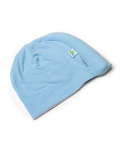 Tortle Repositioning Beanie - Large, Blue in PVC bag