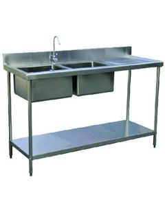 CMP Stainless Steel Sink With Double Bowl