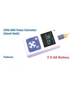 Contec Handheld pulse Oximeter(With 2 x AA Battery)CMS-60 D