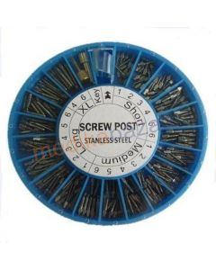 Dental conical screw post
