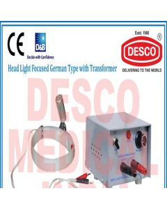 Desco HEAD LIGHT FOCUSED GERMAN TYPE WITH TRANSFORMER