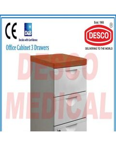Desco OFFICE CABINET 3 DRAWERS OFCA 115 Office Cabinet 3 Drawers