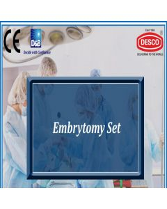 Desco EMBRYOTOMY SET