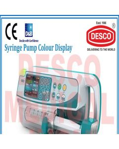 Desco SYRINGE PUMP COLOUR DISPLAY IESY 105 Syringe Pump Colour Display