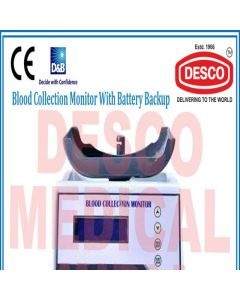 Desco BLOOD COLLECTION MONITOR WITH BATTERY BACKUP BBCM 101 Blood Collection Monitor With Battery Backup