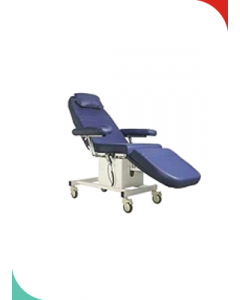 LABTOP Micro controller based Dialysis Chair with motorised control with battery backup for 2 hrs