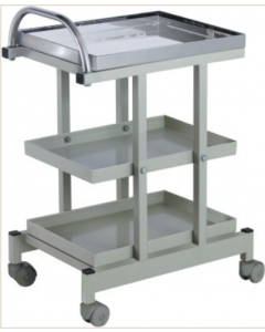 Warden Drug Trolley Fully SS WHF 35C