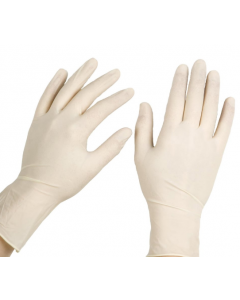 Dyna Sterile Latex Surgical Gloves Powder Free (Size: 7.5)
