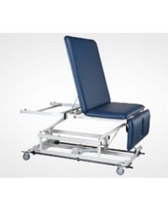 EMC Motorised Hi-Low Traction Table, Manual Leg Down, Manual Head Raise