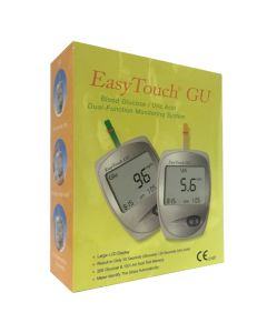 Easy Touch ET-201 GU (Glucose & Uric Acid) - One Kit