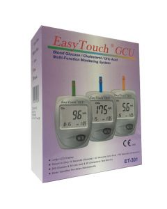 Easy Touch ET 301 GCU (Glucose, Cholesterol & Uric Acid) - One Kit