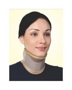 Flamingo Cervical Collar With Neck Support (Height Adjustable) OC 2190 (Small)