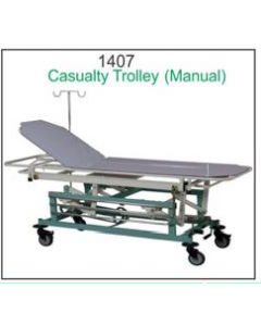 Global Casualty Trolley - 1407 - Manual (Top SS)