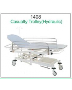 Global Casualty Trolley- 1408 - Hydraulic (Top SS)