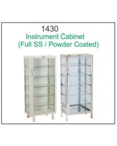 Global Instrument Cabinet - 1430 - Full SS