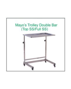 Global Mayos Trolly - 1403 - Double Bar Top SS