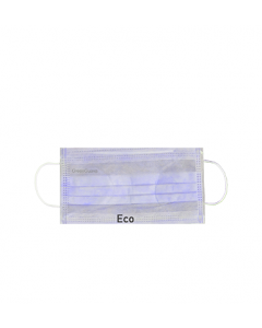 Green Guava Eco Tie On Face masks 3Ply, 100Pc/Bag, 75Bags/Carton