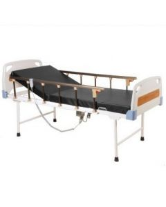 Hospital Semi Fowler Bed Motorized ABS Panels & collapsible Railing & Mattress