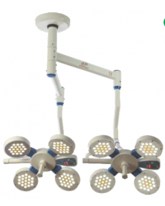 LED Operation Theater Surgical BJS  Slim Twin Light (4+ 4)