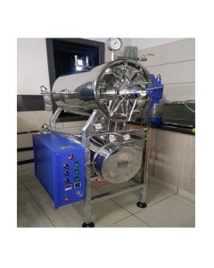 Innotech PID Controlled Automatic Horizontal Cylindrical High-speed Autoclave