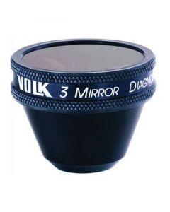 VOLK Gonio Lenses 3 Mirror, No Flange