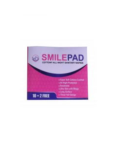 Smilepad Cottony All Night Ultra-Thin Sanitary Napkin