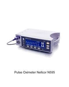 NELLCOR 595/600 PULSE OXYMETER (Refurbished)