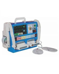 "Niscomed Defibrillator(7"" Screen, AED Mode & Printer)"