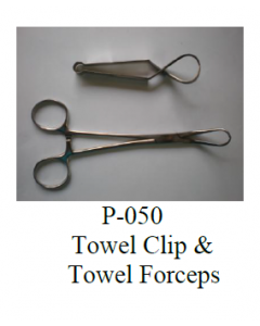 Parulekar Towel Clip & Towel Forceps - P-050