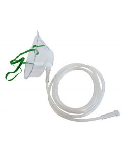 Raxon Oxygen mask with tubing - Adult