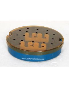 Round Phaco tray with strip