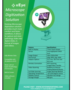 Xeye Microscope Digitization Solution