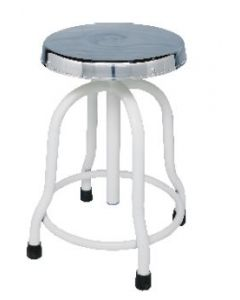 Sigma Revolving Stool with S.S. Top -SM-3003