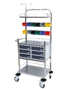 Sigma S.S. Crash Cart Trolley-SM-5007